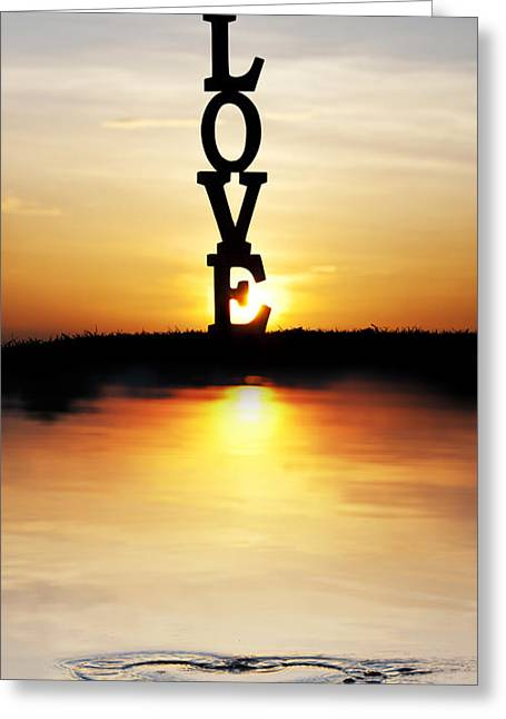 Love Letter Greeting Cards - Love Heart Greeting Card by Tim Gainey