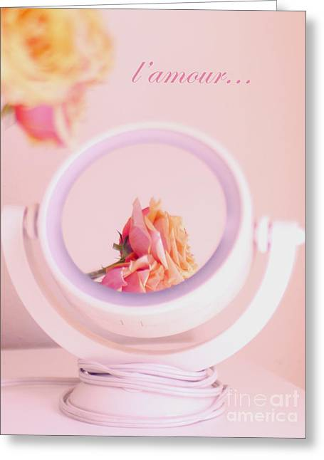 With Love Photographs Greeting Cards - Love in the Mirror Greeting Card by Irina Wardas
