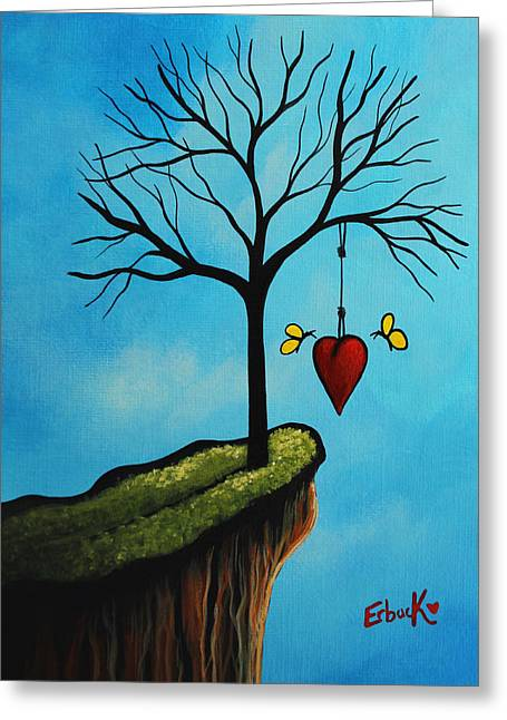 Love Is All We Need Original Artwork Greeting Card by Shawna Erback