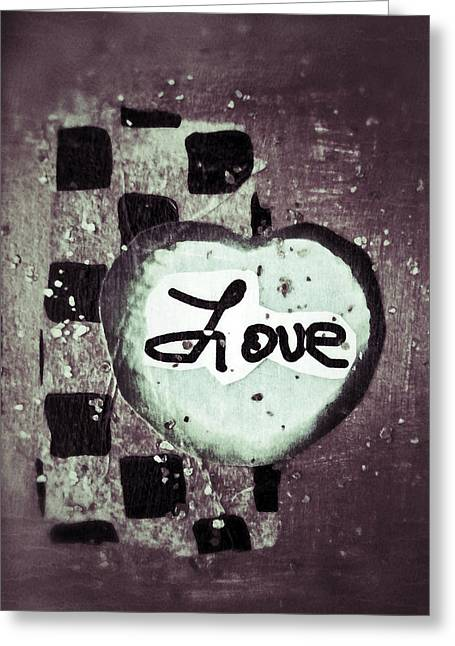 The Beatles All You Need Is Love Greeting Cards - Love Is All You Need Greeting Card by Patricia Januszkiewicz