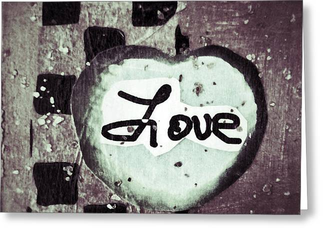 Love Is All You Need Greeting Card by Patricia Januszkiewicz
