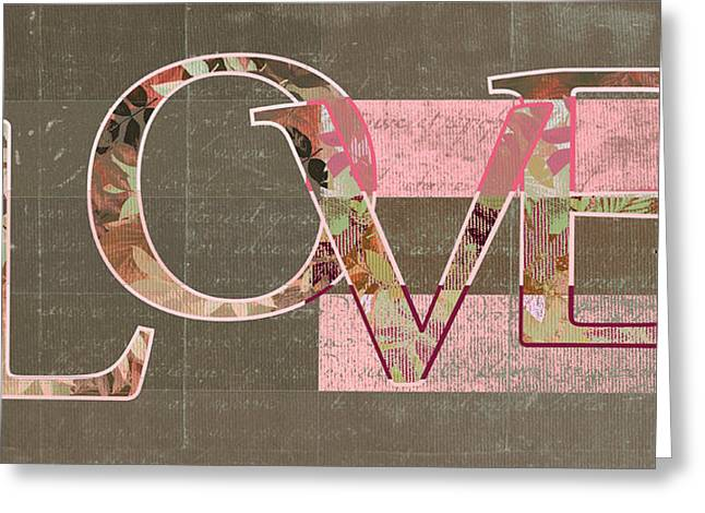 Love - J249115131t-rwtp Greeting Card by Variance Collections
