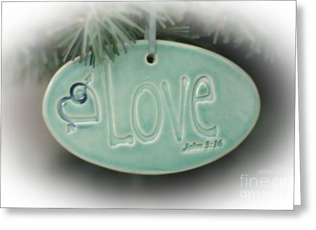 Love Greeting Card by Kathleen Struckle