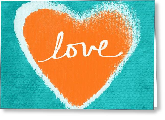 Art For Home Greeting Cards - Love Greeting Card by Linda Woods