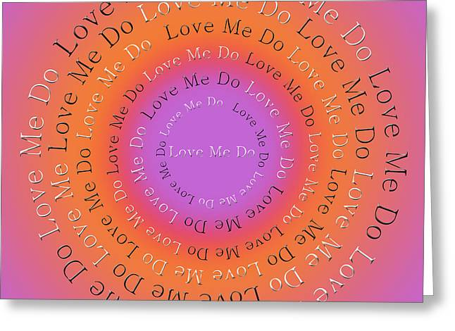 Ringo Starr Greeting Cards - Love Me Do 2 Greeting Card by Andee Design
