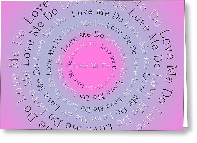 Ringo Starr Greeting Cards - Love Me Do 3 Greeting Card by Andee Design