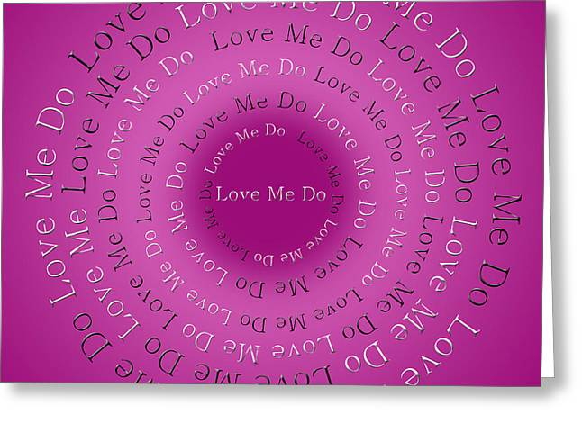 Ringo Starr Greeting Cards - Love Me Do 4 Greeting Card by Andee Design