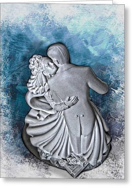 Dancing Figurine Greeting Cards - Love me forever Greeting Card by Christina Perry