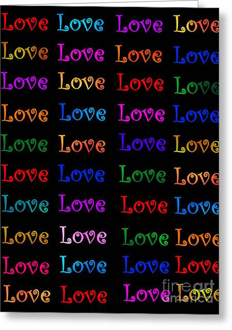 First Love Greeting Cards - Love  Greeting Card by Nikunj Vasoya