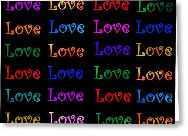 Love  Greeting Card by Nikunj Vasoya