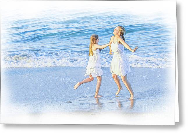 North Sea Greeting Cards - Love of Life  Greeting Card by Randy Steele