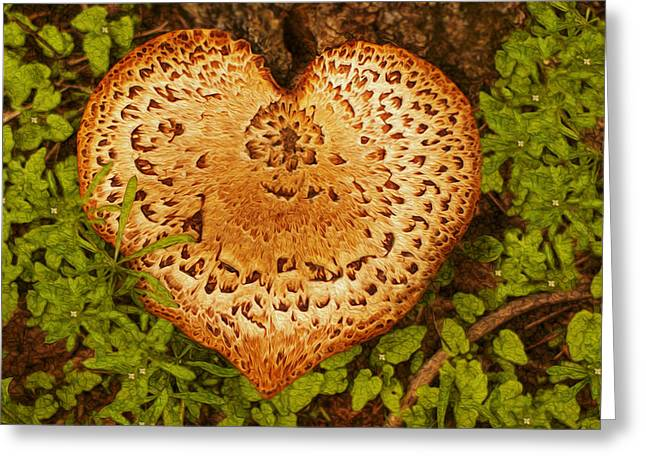 Spore Greeting Cards - Love Of Nature Greeting Card by Jack Zulli