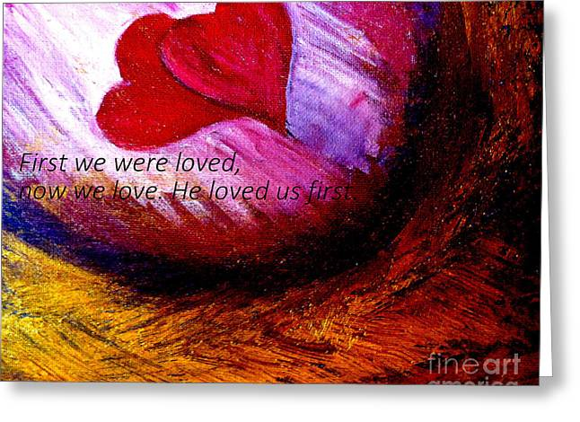 Love of the Lord Greeting Card by Amanda Dinan
