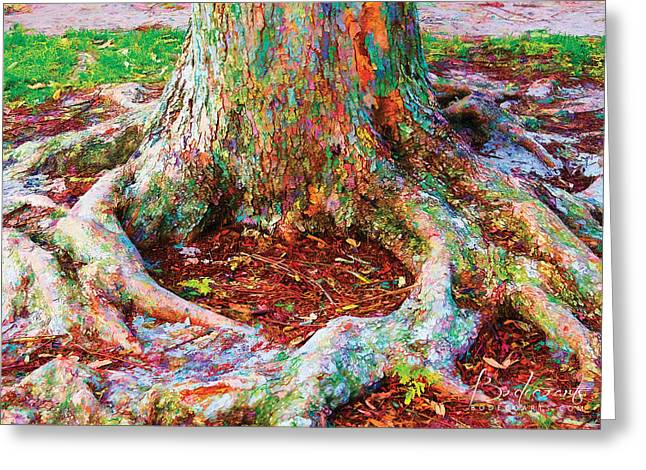 Robin Lewis Greeting Cards - Love of Trees Greeting Card by Robin Lewis