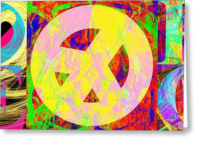 Civil Rights Movement Greeting Cards - Love Peace and Rock and Roll Return To The Summer of Love 20140605 Greeting Card by Wingsdomain Art and Photography