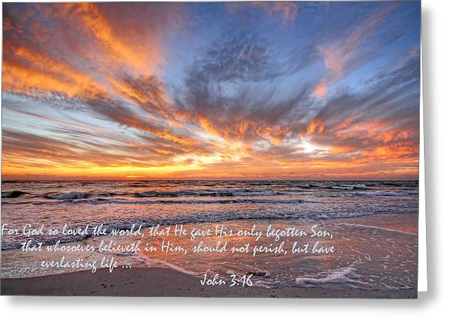 Testament Greeting Cards - Love Personified Greeting Card by HH Photography of Florida