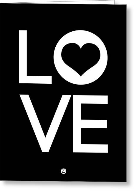Famous Digital Art Greeting Cards - Love Poster 6 Greeting Card by Naxart Studio