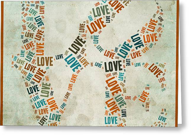 Love Quatro - 29ct04 Greeting Card by Variance Collections