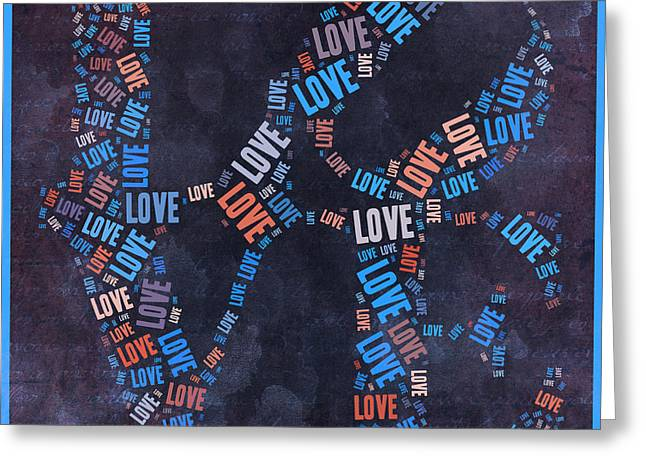 Love Quatro - 30ct04 Greeting Card by Variance Collections