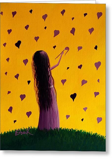 Love Greeting Card by Shawna Erback