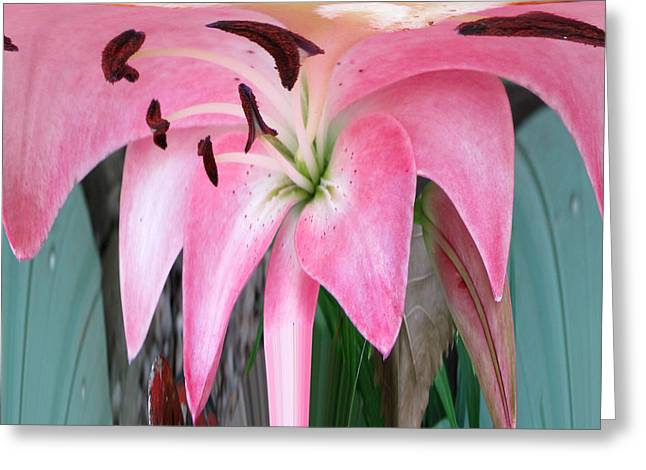 Inversion Greeting Cards - Love Simplicity  Greeting Card by Robert  Nacke