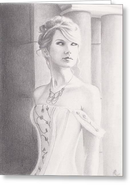 Recently Sold -  - Princes Greeting Cards - Love Story Greeting Card by Kendra Tharaldsen-Franklin