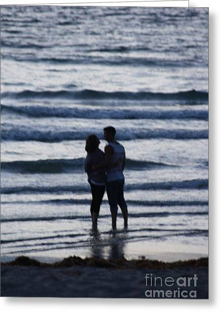 Beach Photos Greeting Cards - Love The Beach Greeting Card by Chuck  Hicks