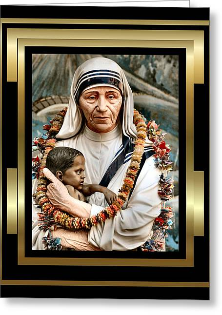 Religious Paintings Greeting Cards - Love To The Rescue 3 Greeting Card by Karen Showell
