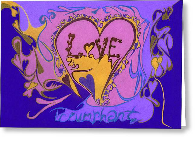 U.s.marine Corporal Greeting Cards - Love Triumphant Greeting Card by Kenneth James