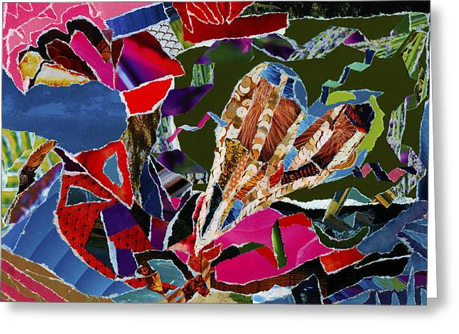 Gestures Mixed Media Greeting Cards - love what U do Greeting Card by Kenneth James