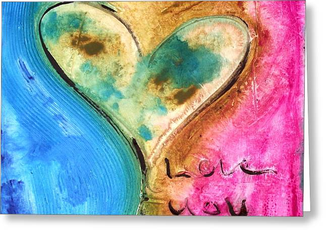 Family Love Greeting Cards - Love You Greeting Card by Ivan Guaderrama