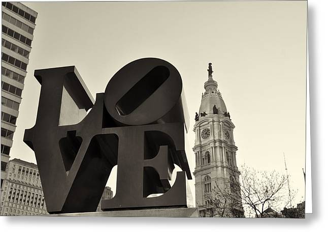 Cityhall Greeting Cards - Love You Too Greeting Card by Bill Cannon