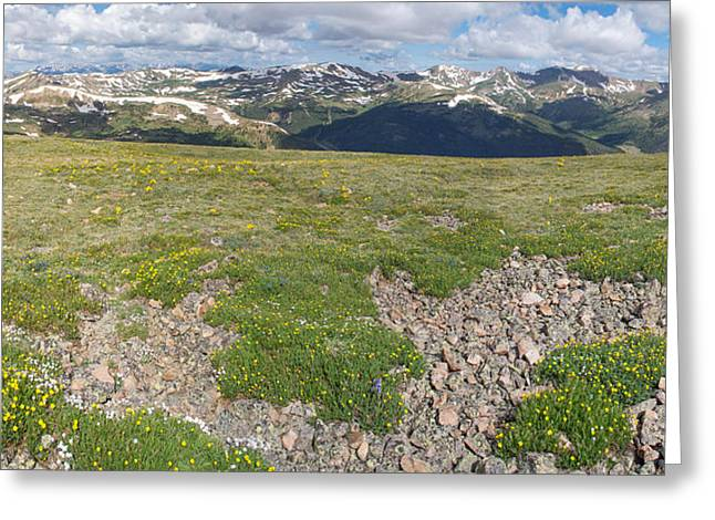 Loveland Greeting Cards - Loveland Pass Greeting Card by Aaron Spong
