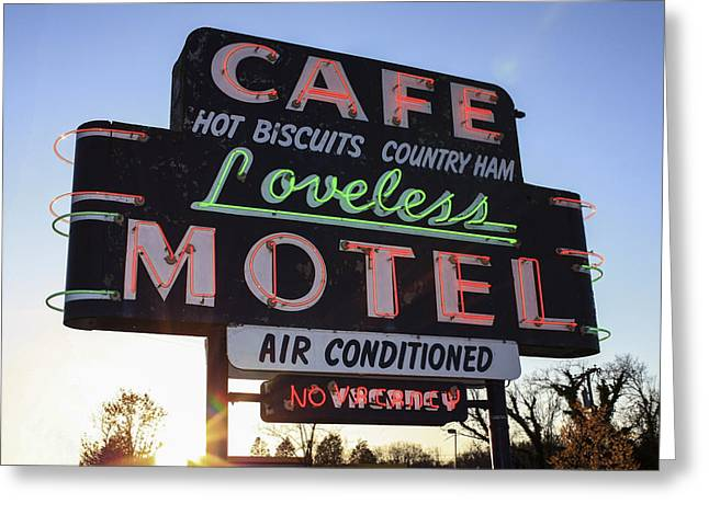 Nashville Tennessee Greeting Cards - Loveless Cafe Greeting Card by David M Porter