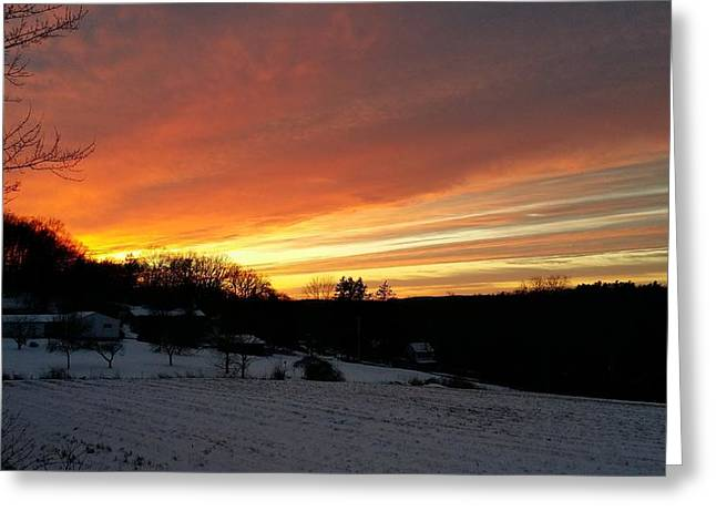 Senic View Greeting Cards - Lovely Greeting Card by Bradford j Cole