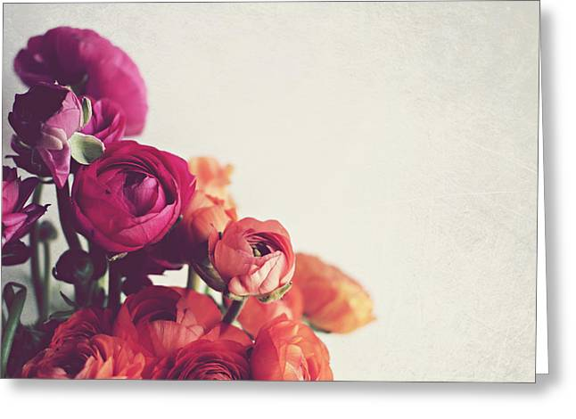 Still Life Photographs Greeting Cards - Lovely Day Greeting Card by Lupen  Grainne