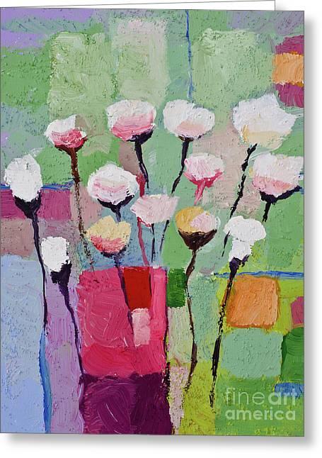 Lovely Flowers Greeting Card by Lutz Baar