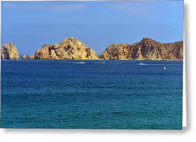 Baja California Greeting Cards - Lovers Beach Cabo Greeting Card by Christine Till