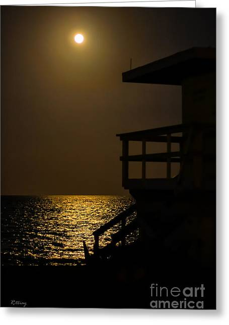 Rene Triay Photography Greeting Cards - Lovers Moon Greeting Card by Rene Triay Photography