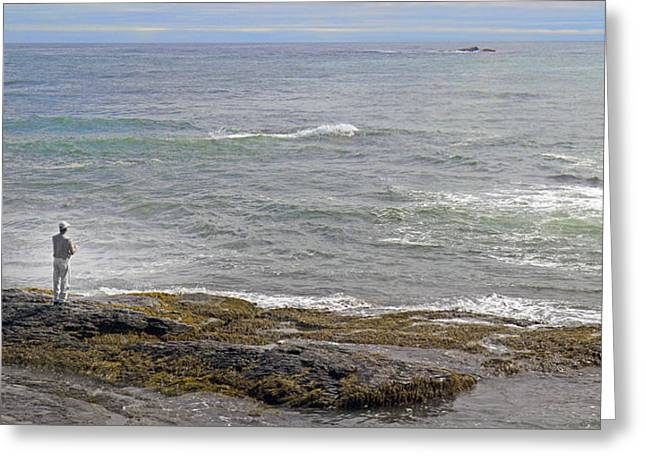 Alga Greeting Cards - Loving the Sea Life Greeting Card by Betsy C  Knapp