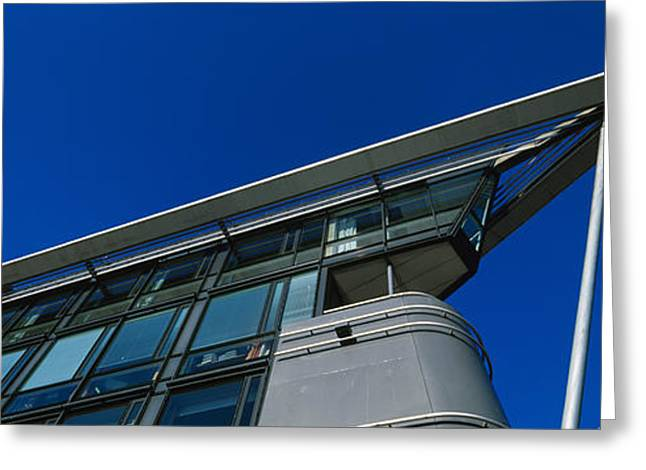 Oslo Photographs Greeting Cards - Low Angle View Of A Building, Aker Greeting Card by Panoramic Images