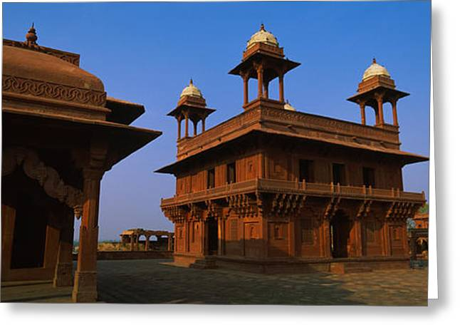 Low Angle View Of A Building, Fatehpur Greeting Card by Panoramic Images