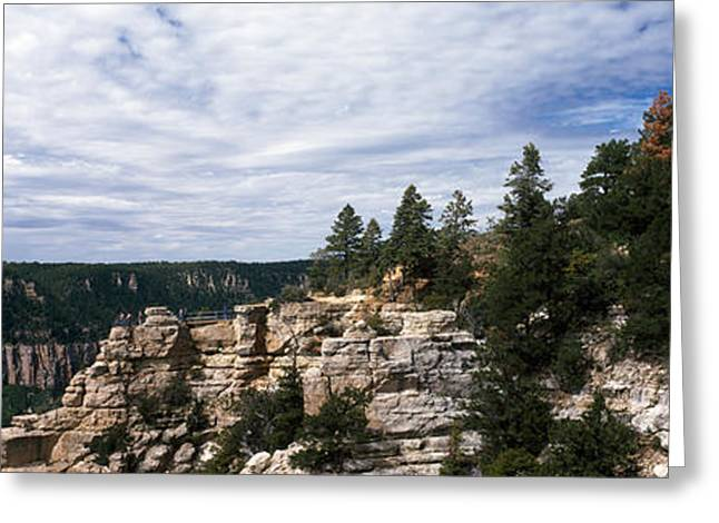 North Rim Greeting Cards - Low Angle View Of A Building, Grand Greeting Card by Panoramic Images