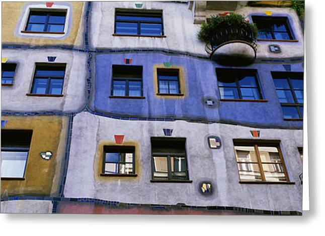 Wien Greeting Cards - Low Angle View Of A Building Greeting Card by Panoramic Images