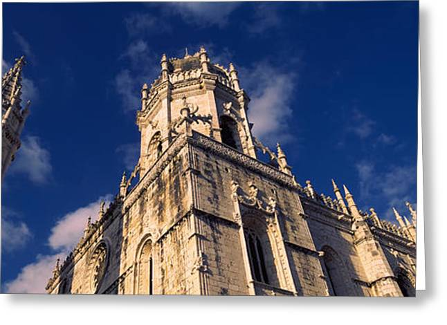 Century Series Greeting Cards - Low Angle View Of A Monastery, Mosteiro Greeting Card by Panoramic Images