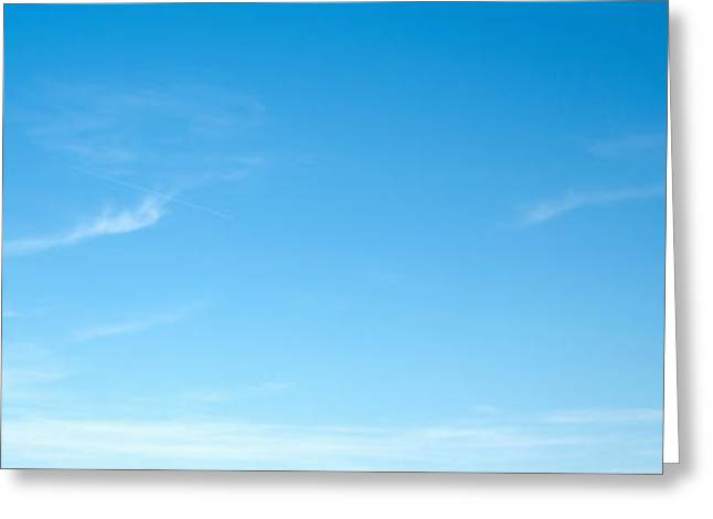 Low Road Greeting Cards - Low Angle View Of A Road Sign Board Greeting Card by Panoramic Images