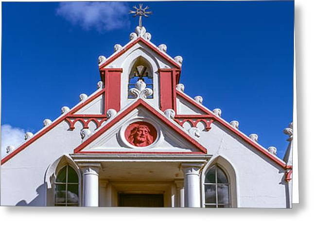 Italian Culture Greeting Cards - Low Angle View Of An Italian Chapel Greeting Card by Panoramic Images