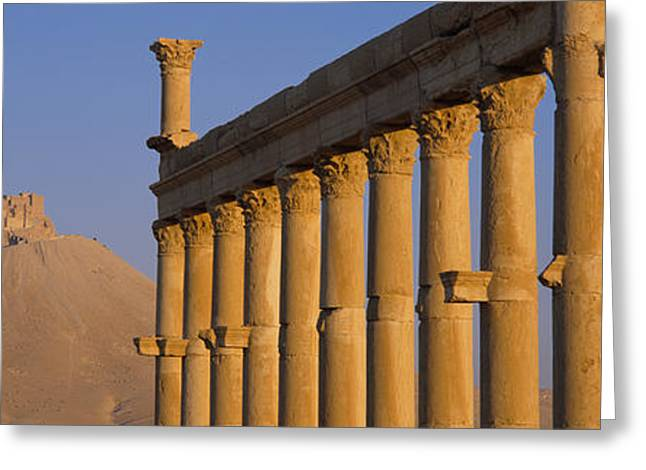 Sand Castles Greeting Cards - Low Angle View Of Great Colonnade Greeting Card by Panoramic Images