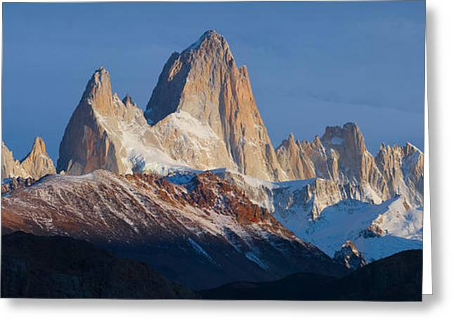 Mountain Greeting Cards - Low Angle View Of Mountains, Mt Greeting Card by Panoramic Images