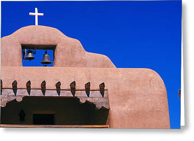 Santo Greeting Cards - Low Angle View Of Santo Tomas Church Greeting Card by Panoramic Images